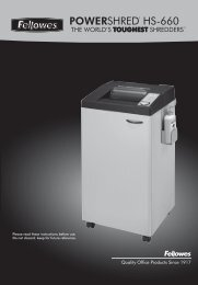 HS-660 Manual_1L_2010.pdf - Fellowes