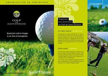 associez votre image à un lieu d'exception - Accueil Golf de Saint ...