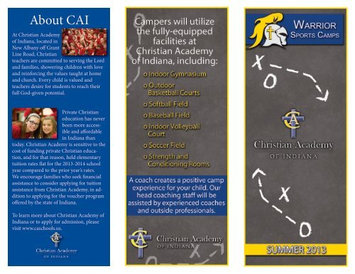 About CAI - Christian Academy School System