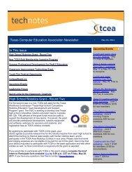 TechNotes 05-10-11.pdf - TCEA