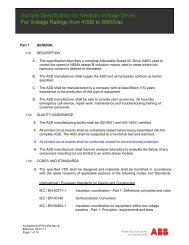 Sample Specification for Medium Voltage Drives ... - Simark Controls