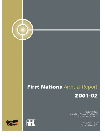 2001-2002 SD72 Aboriginal Education Annual Report