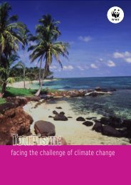Tourism: facing the challenge of climate change - WWF UK