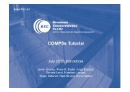 COMPSs Tutorial - COMP Superscalar