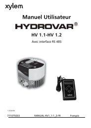 HV 1.1 - Lowara