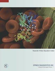 Towards A New Glycation Index - Epinex Diagnostics Inc.