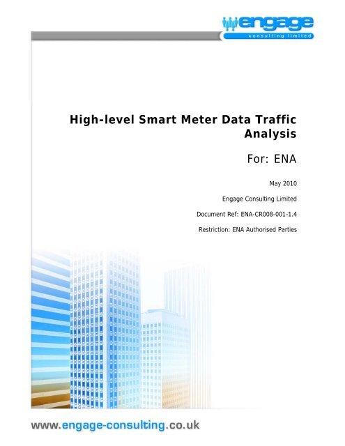 High-level Smart Meter Data Traffic Analysis For - Energy