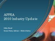 2010 Industry Update. - DrillSafe