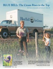 BLUE BELL: The Cream Rises to the Top - Houston History Magazine