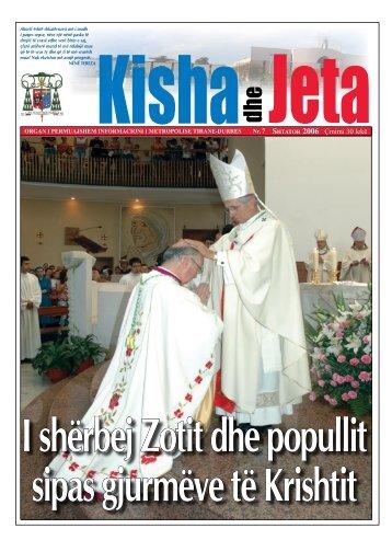 Shtator 2006 Çmimi 30 lekë - kishadhejeta.com