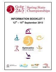 Information Booklet 1