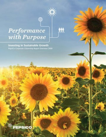 2009 Sustainability Report - PepsiCo