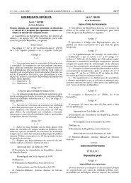 6417 ASSEMBLEIA DA REPÚBLICA TÍTULO I - Estradas de Portugal