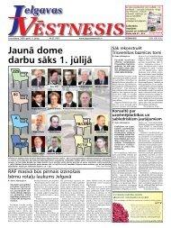 2009. gada 11. jūniis. Nr. 23(107) - Jelgavas Vēstnesis