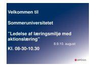 Ledelse i læringsmiljøet med fokus på læreren - mitBUF.dk