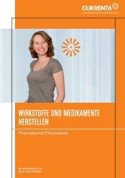 WIRKSTOFFE UND MEDIKAMENTE HERSTELLEN