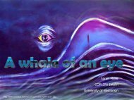 A whale of an eye - University of Wisconsin School of Veterinary ...