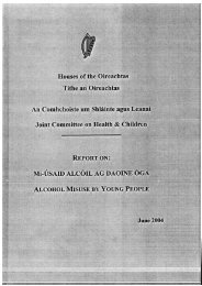 PDF (Report on alcohol misuse by young people) - Drugs.ie