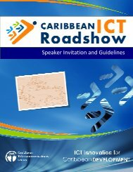 10 Speaker Guideline.. - Caribbean ICT Roadshow