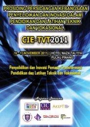 CIE-TVT 2011 - Jabatan Pengajian Politeknik