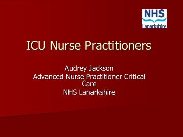 The Role of the Critical Care Nurse Practitioner