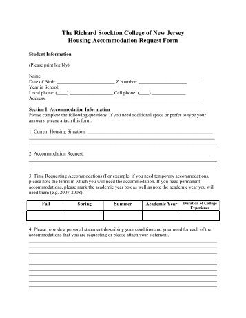 Letter of Accommodation (LOA) Request Form - Peninsula College