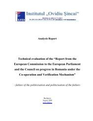 "Technical evaluation of the ""Report from the European Commission ..."