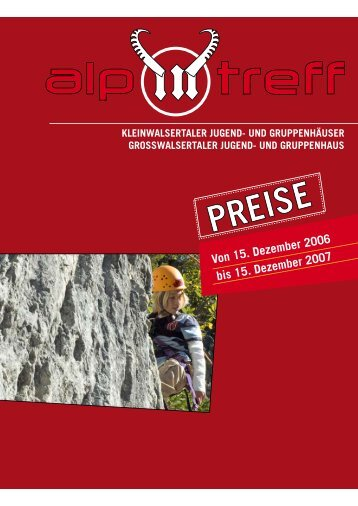 Von 15. dezember 2006 bis 15. dezember 2007 - Alpintreff.net