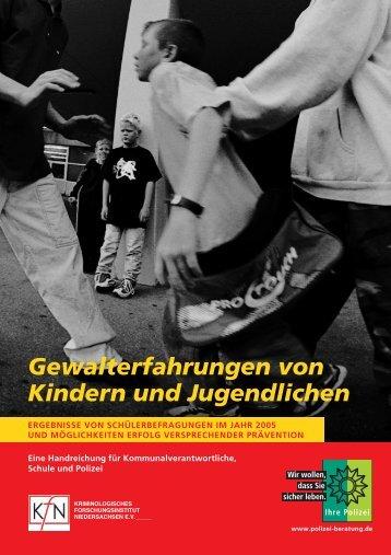 Gewalterfahrungen von Kindern und Jugendlichen - Zentrale für ...