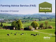 Farming Advice Service - Rural Economy and Land Use Programme