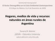Hogares, medios de vida y recursos naturales en áreas rurales de ...
