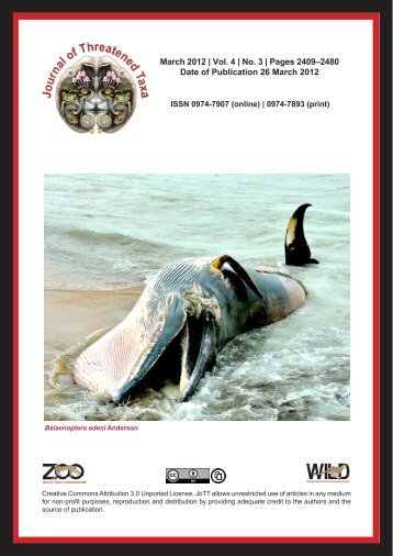 Download - Journal of Threatened Taxa