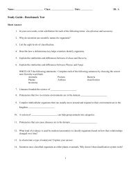 Study Guide Benchmark 1
