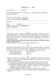 Umowa na dostawę miału 22-15-06 - Zakład Energetyki Cieplnej w ...