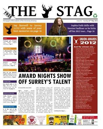 Issue 46.pdf - University of Surrey's Student Union