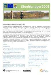 iSecManager2006 - Porin yksikkö