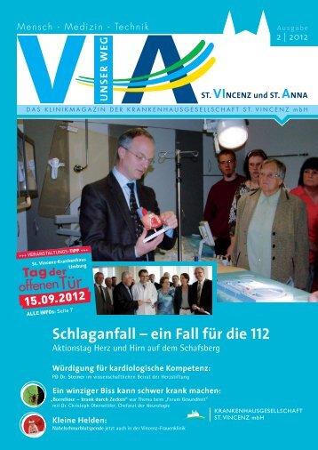 Schlaganfall – ein Fall für die 112 - St. Vincenz Krankenhaus Limburg