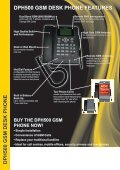DPH500 GSM Desk Phone - Dual Band GSM ... - PMC Telecom - Page 2