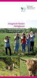 Integrierte Station . Höltigbaum . - Stiftung Naturschutz Schleswig ...