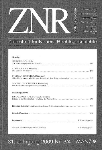 Franz-Josef Arlinghaus: Rituale in der historischen Forschung der ...