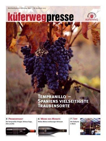 Küferwegpresse 69 - Weinhandlung am Küferweg AG