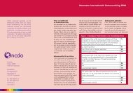 Barometer Internationale Samenwerking 2006 - NCDO