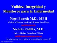 Curso 7-Validez, Integridad y Monitoreo para la Enfermedad