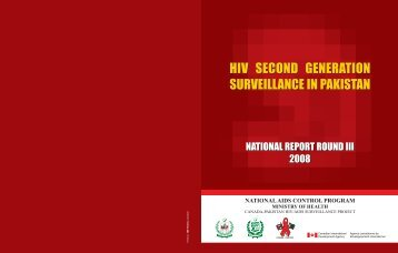 HIV Second Generation Surveillance in Pakistan - National AIDS ...