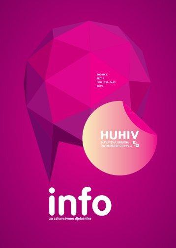Bilten 1 – 2009 - HUHIV-a