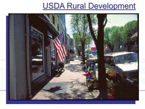 USDA Rural Development - Illinois Institute for Rural Affairs