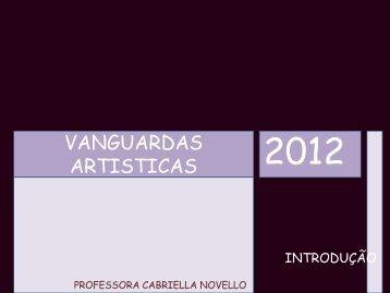 VANGUARDAS ARTISTICAS