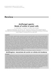 Antifungal agents: Mode of action in yeast cells - SEQ