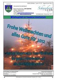 Müllabfuhr Termine 2012 - in Schrattenbach