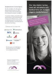 Inbjudan - Almedalsveckan (PDF-dokument, 3,2 ... - Arbetsgivarverket